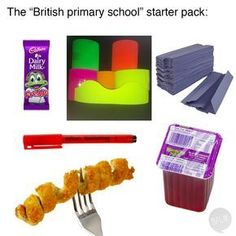 This is the stuff that makes Britain what it is. Funny Tweets, Funny Relatable Memes, Relatable Posts, Funny Humor, Starter Packs Meme, Teen Memes, Growing Up British, Funny Twitter Posts, British Memes