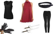 Elektra Black Costume