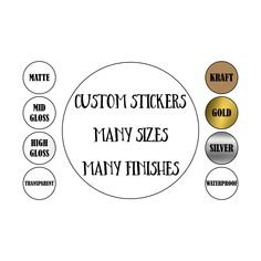Excited to share this item from my #etsy shop: Custom stickers,custom labels, printed stickers, round labels, personalized stickers, logo sticker,stickers,labels, Custom, Personalized Custom Sticker Labels, Personalized Stickers, Custom Labels, Clear Stickers, Round Stickers, Student Body President, Sticky Labels, Round Labels, White Prints