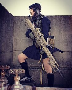 "WEBSTA @ blueswallowtail - I know exactly how to do. "" THE MAN STOPPER "" SSR High-school Girl #japon #japan #tokyo #sniperrifle #Balisong #benchmadeknives #benchmade #butterflyknife #operator #tacticalknives #everydaycarry #tacticalgear #backupweapon #kali #fnhusa #FNH #fnherstal #mk20ssr #308win #308 #realtreecamo #DMR #sniper #marksman #Japanesefashion #jk #highschool #highschoolfriends #highschoolgirls #combatives"