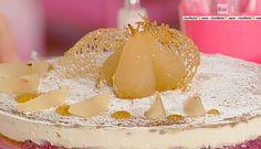 La ricetta della torta ricotta e pere di Sal De Riso del 7 ottobre 2014 - Dolci dopo il tiggì