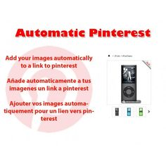 Updated free module for #prestashop 1.6 Automatic pinterest http://catalogo-onlinersi.net/en/modules-ps-11-to-16/344-automatic-pinterest-lite.html