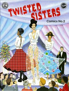 from my feature story on the Wonder Women of Comics ~ Twisted Sisters by Carol Lay, 1994