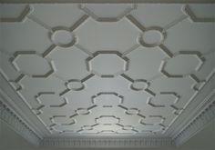 Plaster Patterned Ceiling Relief - PCR-015-PL