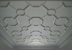 Plaster Patterned Ceiling Relief - PCR-015-PL