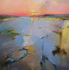 Peter Wileman: Royal Institute of Oil Painters - December, Abstract Landscape Painting, Seascape Paintings, Landscape Art, Landscape Paintings, Art Paintings, Landscape Design, Contemporary Abstract Art, Contemporary Landscape, Peter Wileman