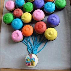 Up! cute idea for a kids birthday party