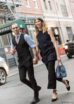 veronika heilbrunner justin o'shea great lengths garance dore street style new york photos