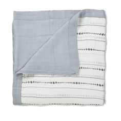 moonlight - bead + solid grey rayon from bamboo fiber dream blankets | aden + anais USA