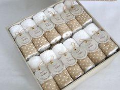 hermosas toallitas personalizadas tonantzin jabones artesanales ambarjc@hotmail.com Baby Favors, Baby Shower Favors, Baby Boy Shower, Wedding Favors, Wedding Gifts, Baby Shawer, Baby Decor, Christening, Baby Room