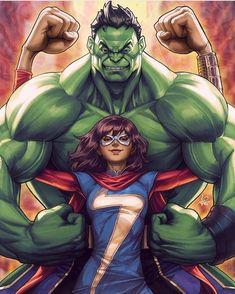 Hulk amd Marvel