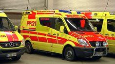 Ambulansseja oulun pelalla