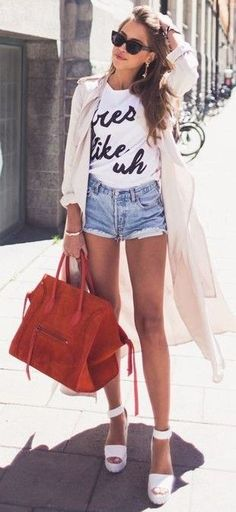 #summer #kenzas #outfits |  Baby Pink + White + Blue