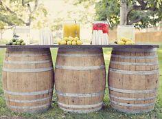 Wine Barrels for Rent in Dallas, TX