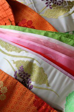Japanese ancient 12 layered kimono, Juni-hiote 十二単