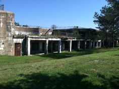More structures on Fort Stark, New Castle NH.