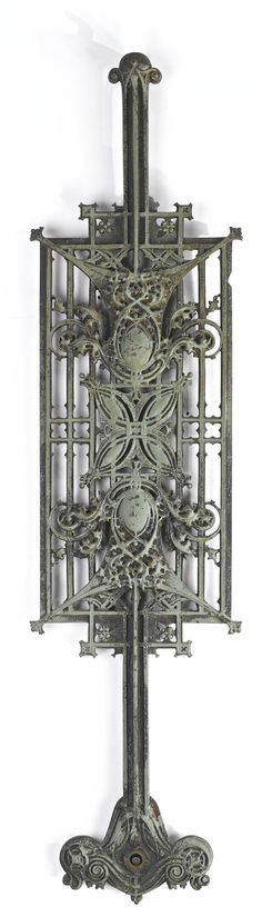 Balustrade Panel. Carson, Pirie, Scott and Co. Building. Chicago, Illinois. 1899-4. Louis Sullivan/ Alder Sullivan Architects
