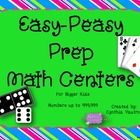 Do you need some easy prep math centers for students to use while you assess students at the beginning of the year (or any other time)?  Just add d...