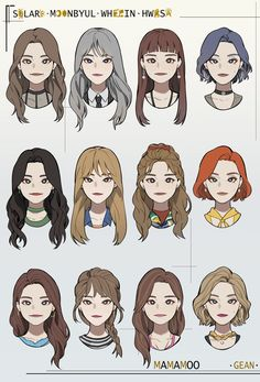 Hair Reference, Drawing Reference Poses, Drawing Poses, Character Inspiration, Character Art, Drawing Hair Tutorial, Pelo Anime, Hair Sketch, Anime Drawings Sketches