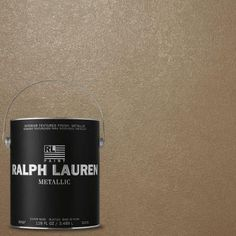Ralph Lauren 1-gal. Ferro Gray Silver Metallic Specialty Finish Interior Paint-ME129 - The Home Depot