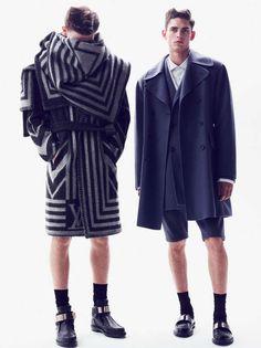 Minimal Maximal GQ Style Gemany Fashion Story is Sculptural #topmensfashion