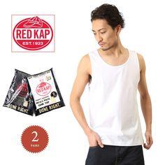 RED KAP レッドキャップ MJ-ST2PJ 2枚組 へヴィーウェイト タンクトップ #ミリタリーセレクトショップWIP #MILITARY #T-SHIRT #Tシャツ #タンクトップ #tanktop