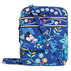 NEED THIS!!   Mickey and Minnie Mouse Disney Dreaming Mini Hipster Bag by Vera Bradley