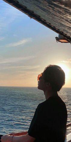 Holiday at sea (not mine) Foto Bts, Mochi, Jimin Pictures, Park Jimin Cute, V Bts Wallpaper, Bts Aesthetic Pictures, Bts Korea, Album Bts, Bts Lockscreen