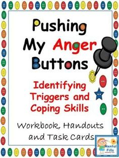 Stop letting other's push your anger buttons by learning to identify what provokes strong emotions, the progression of anger, the physical and emotional signs of anger, and effective coping skills addressing each stage of anger. Included in this product are strategies to help calm oneself down to make prideful choices, including colorful (and black and white) visual handouts to help guide a lesson or use as a poster, along with 80 thought provoking questions on worksheets (that may be made…