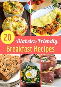 Are you always looking for diabetes-friendly breakfast recipes? We have 20 healthy ones right here that will fit into your diet quite nicely.