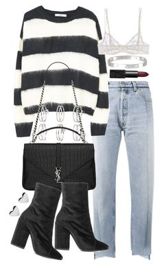 """""""Untitled #20700"""" by florencia95 ❤ liked on Polyvore featuring Vetements, Miss Selfridge, NARS Cosmetics, Yves Saint Laurent, La Perla, Dries Van Noten and Cartier"""