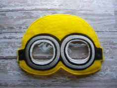 5x7 Minion Mask by OFNAH on Etsy, $6.00