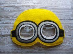 5x7 Minion Mask by OFNAH on Etsy, $6.00