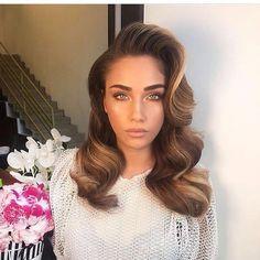 hair makeup gold