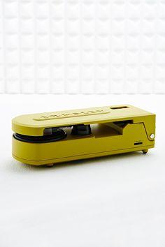 Crosley Revolution Portable Turntable in Green EU Plug