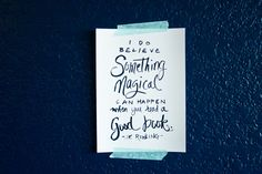Book Quote, Quote about Books, J K Rowling Quote, Magic Quote, Magical Books, Typography Print, 5x7 Print on Etsy, $10.00