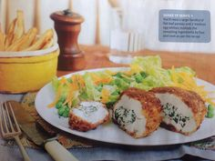 Homemade chicken Kiev- a slimming world recipe. Yummy scrummy