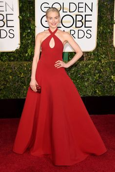 All of the chicest red carpet arrivals from the Golden Globes: Taylor Schilling
