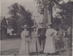 Picture from the early 1900's on Kent Island Stevensville Maryland, I think?