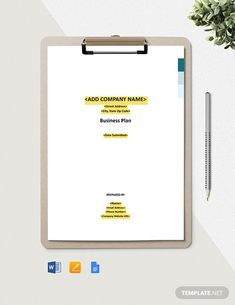 Cleaning Service Business Plan Template - Word (DOC) | Google Docs | Apple (MAC) Pages | Template.net Business Plan Template Word, Construction Cleaning, Financial Logo, Cleaning Business, Google Docs, Word Doc, Cleaning Service, Company Names, Business Planning