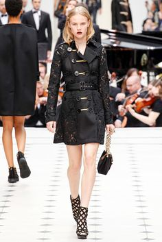 Now that's one serious upgrade on the trench at Burberry