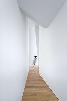 geometric hallway