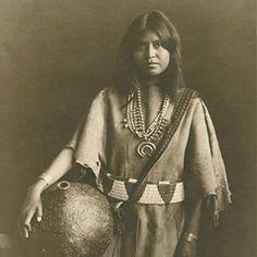 Loti, Laguna Pueblo, circa 1907 Photo by Karl Moon