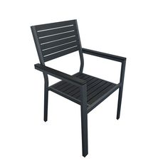 Lithium Chair - Perfect for outdoor hospitality areas! The chairs and tables in grey and black offer a contemporary setting, ideal for anyone looking for modern hospitality areas and has the option of low or high seating and table options. From flower shows to horseracing meetings, and from food festivals to air shows, the new lithium range is sure to be a big hit this summer and is perfect for alfresco dining.