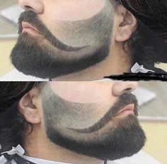 The conquistador beard fade will be the hottest look of Mark my words 🔥🔥🔥 Mens Hairstyles With Beard, Cool Hairstyles For Men, Haircuts For Men, Beard Styles For Men, Hair And Beard Styles, Curly Hair Styles, Goatee Styles, Bald With Beard, Beard Fade