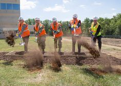 Groundbreaking ceremony for Secure Administrative and Operations Facility Army Intelligence, Fort Belvoir, Airboat Rides, C Ops, Army Corps Of Engineers, Chief Of Staff, American Pride, Us Army