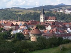 BARDEJOV, Slovakia: is a small but exceptionally complete and well-preserved… Cities In Europe, Central Europe, Vacation Trips, Vacation Spots, Bohemian Culture, Fortification, Medieval Town, Europe Travel Tips, Eastern Europe