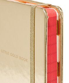 Kate Spade Medium Little Gold Book Notebook | Home | Liberty.co.uk