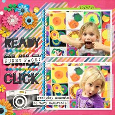 Kit: Everyday Life - August by Juno Designs Template: Double Time by Fiddle Dee Dee Designs