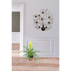 """Acquire excellent suggestions on """"metal tree artwork"""". They are available for you on our internet site. Metal Flower Wall Art, Metal Wall Art Decor, Metal Tree Wall Art, Metal Flowers, Metal Art, Tree Artwork, Colorful Wall Art, Candle Stand, Decorate Your Room"""